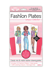 Fashion Plates® Campus Collection Expansion Kit
