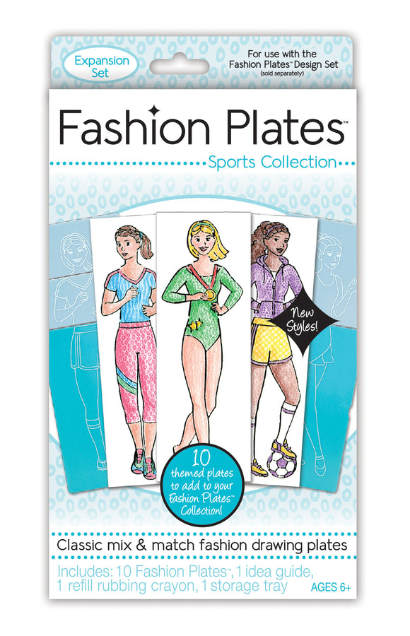 Fashion Plates® Sports Collection Expansion Kit