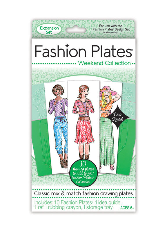 Fashion Plates® Weekend Collection Expansion Kit
