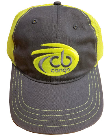 Logo Snap Back Navy Lime