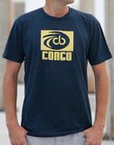 Yellow Logo Navy