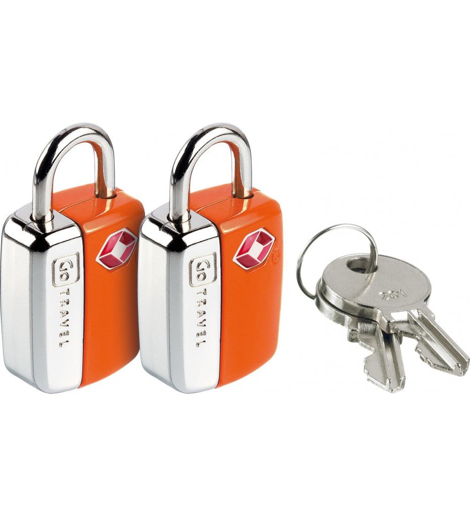 Mini Glo Travel Sentry USA Lock Twin Pack
