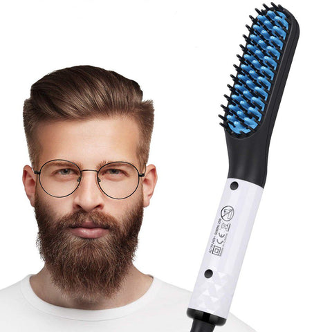 Beard Straightener for Men, Vimpro Multifunctional Electric Hot Comb