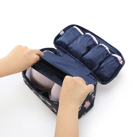 Image of Flamingo Bra Travel bag- P-Travel