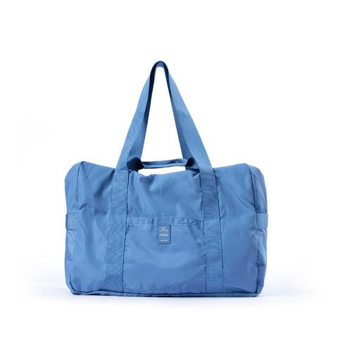 Image of Heavy duty Folding travel Duffel bag - blue- P-Travel