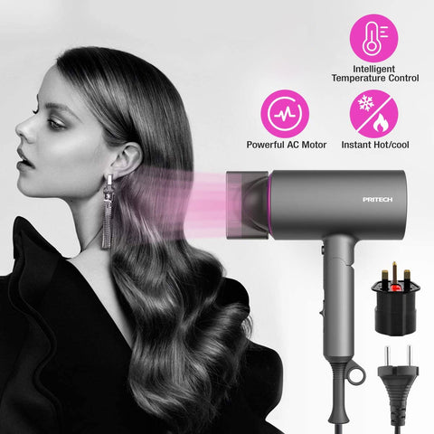 Pritech Folding Hair Dryer