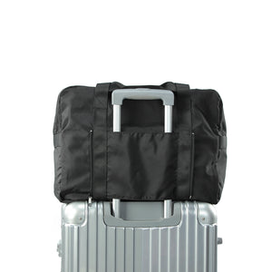Heavy duty Folding travel Duffel bag - black- P-Travel