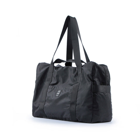 Image of Heavy duty Folding travel Duffel bag - black- P-Travel