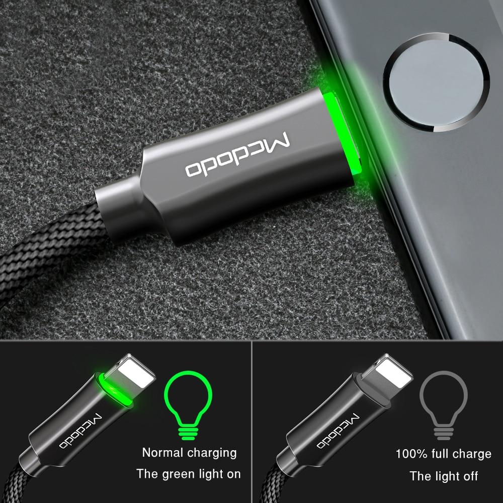 *NEW* Quick Charge 3.0 Cable with Auto Disconnect  - Apple iPhones and iPads