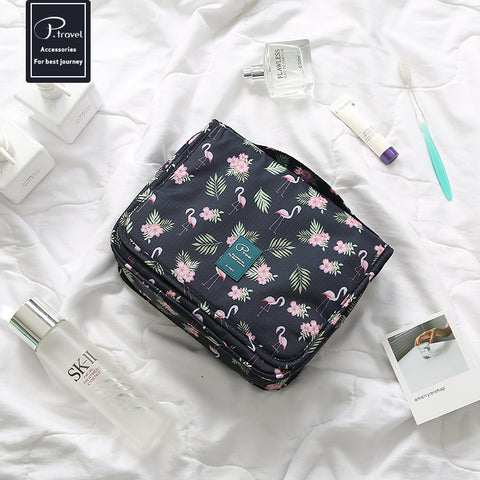 Flamingo Travel Toiletry bag - hanging- P-Travel