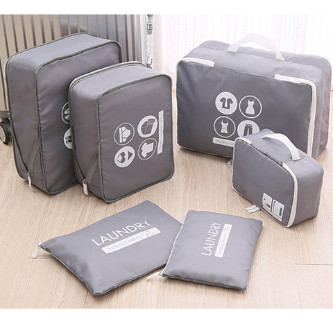 Image of Expandable Packing Cubes -6 pack- P-Travel