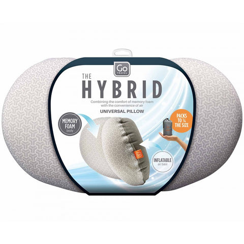Image of **NEW** Hybrid Travel Pillow- inflatable and memory foam