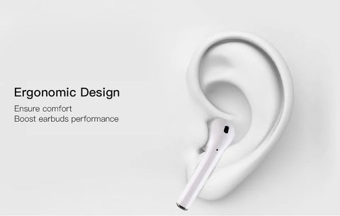 Image of Bluetooth earphones 'Earpods' i10