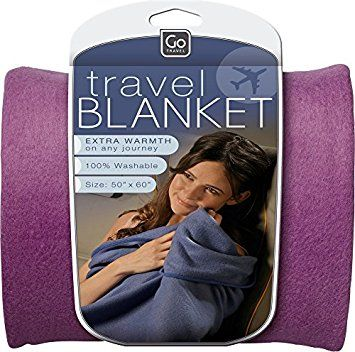 Image of Travel Blanket (Black)