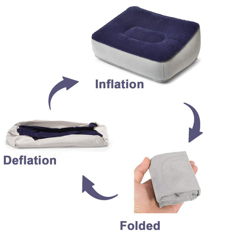 Image of Travel Foot Rest Pillow