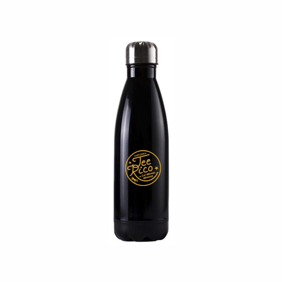 Rise Up - 17oz Insulated Water Bottle - Black -  New Item