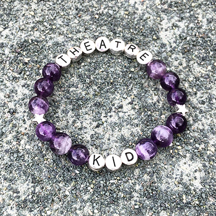 Theatre Kid - Handmade Bracelet - South African Amethyst