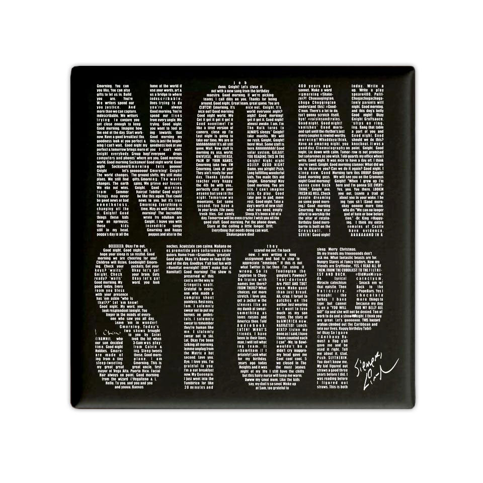 "NONSTOP - 3""x3"" Button Magnet"