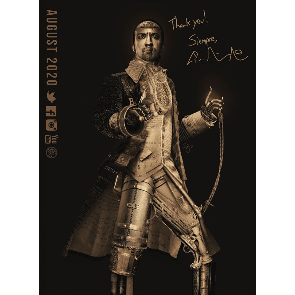 Lin-Manuel August '20 3X4 Thank You Card - Legacy