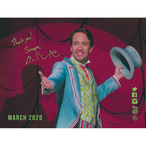 Lin-Manuel March '20  3X4 Thank You Card - Jack the Lamplighter