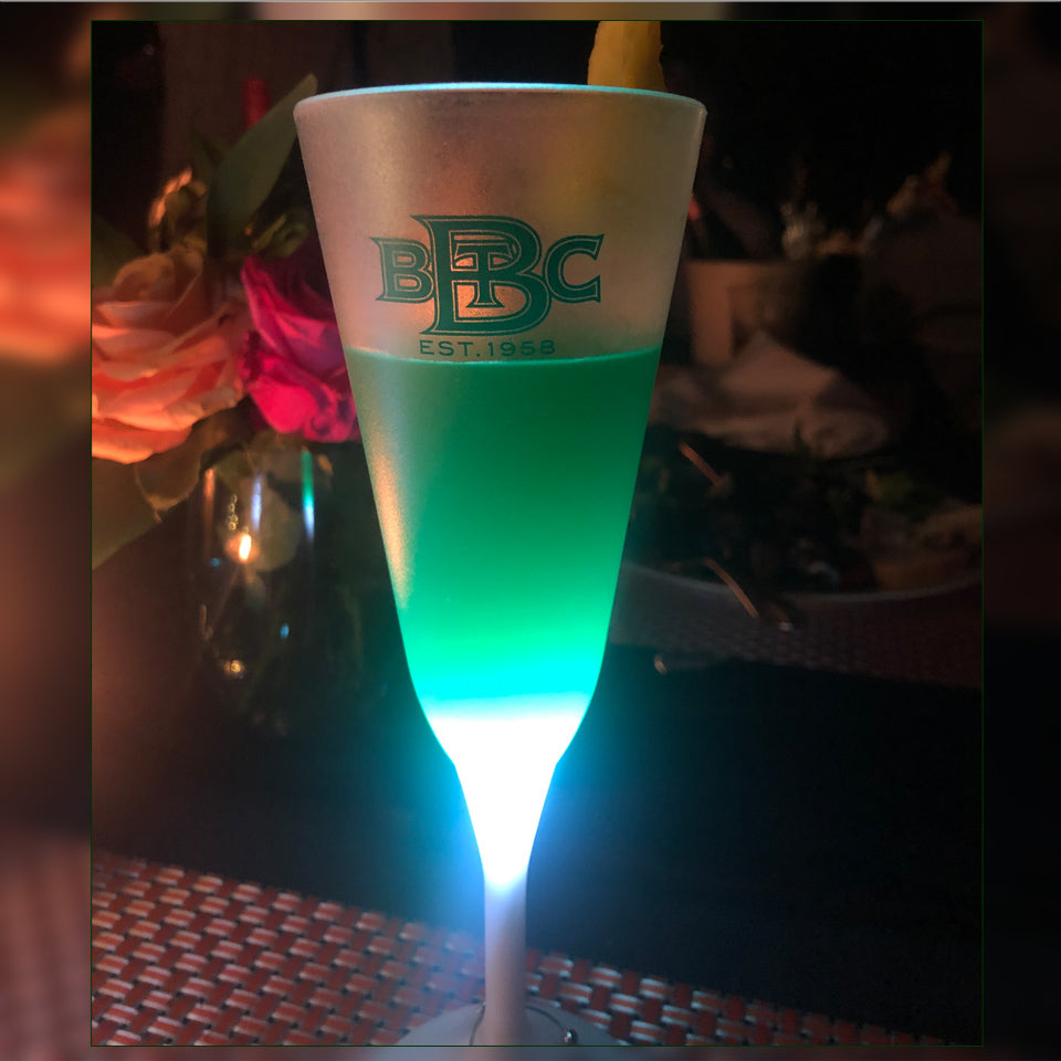 BBTC 6oz Light-up Champagne Glass