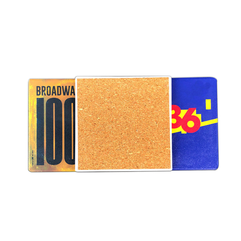 Broadway Zip Coasters Set