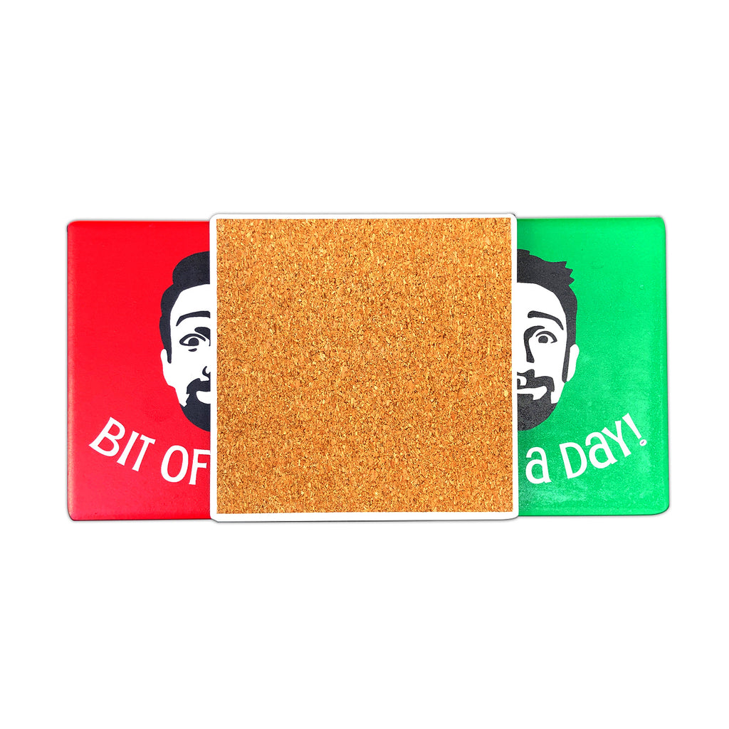 Lin-Manuel FaceTime Coasters Set