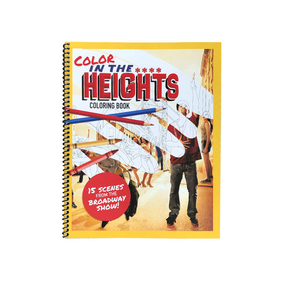 Color In The Heights Coloring Book