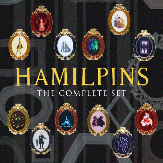 HamilPins - The Complete Set +1!