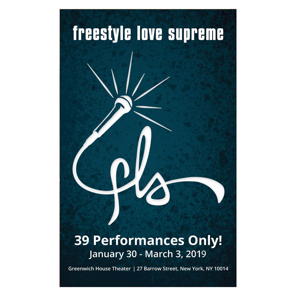 "Freestyle Love Supreme - 14""x22"" Window Card - Final Sale"