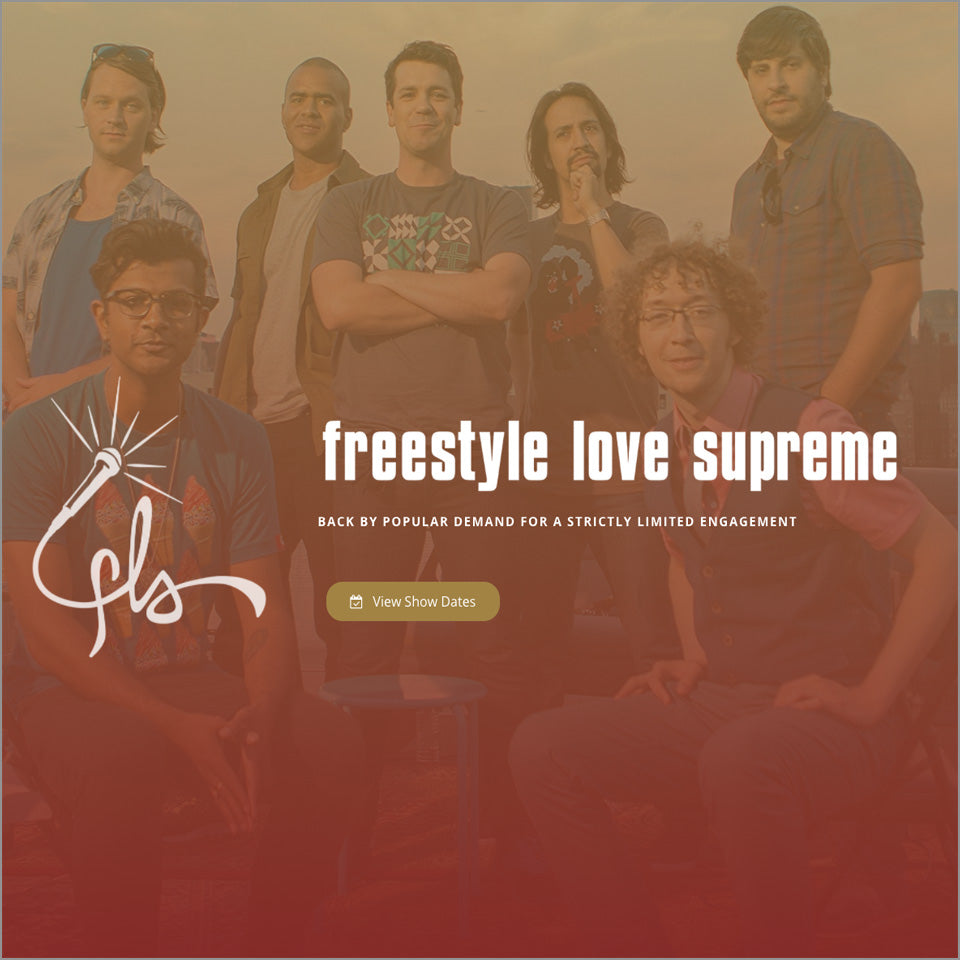 "Freestyle Love Supreme - 3.5""x2.5"" Flat Magnet"
