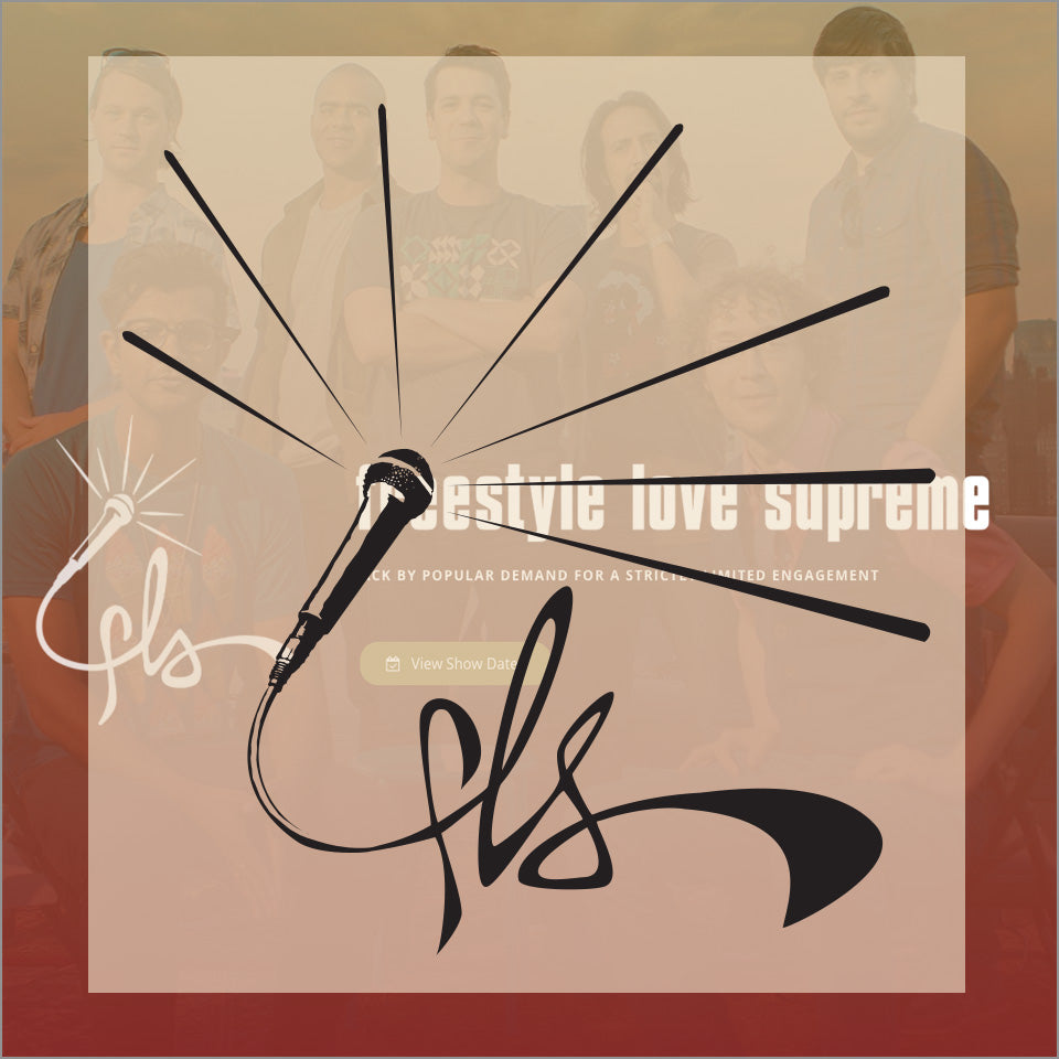 Freestyle Love Supreme - (2) Temporary Tattoos - New Item