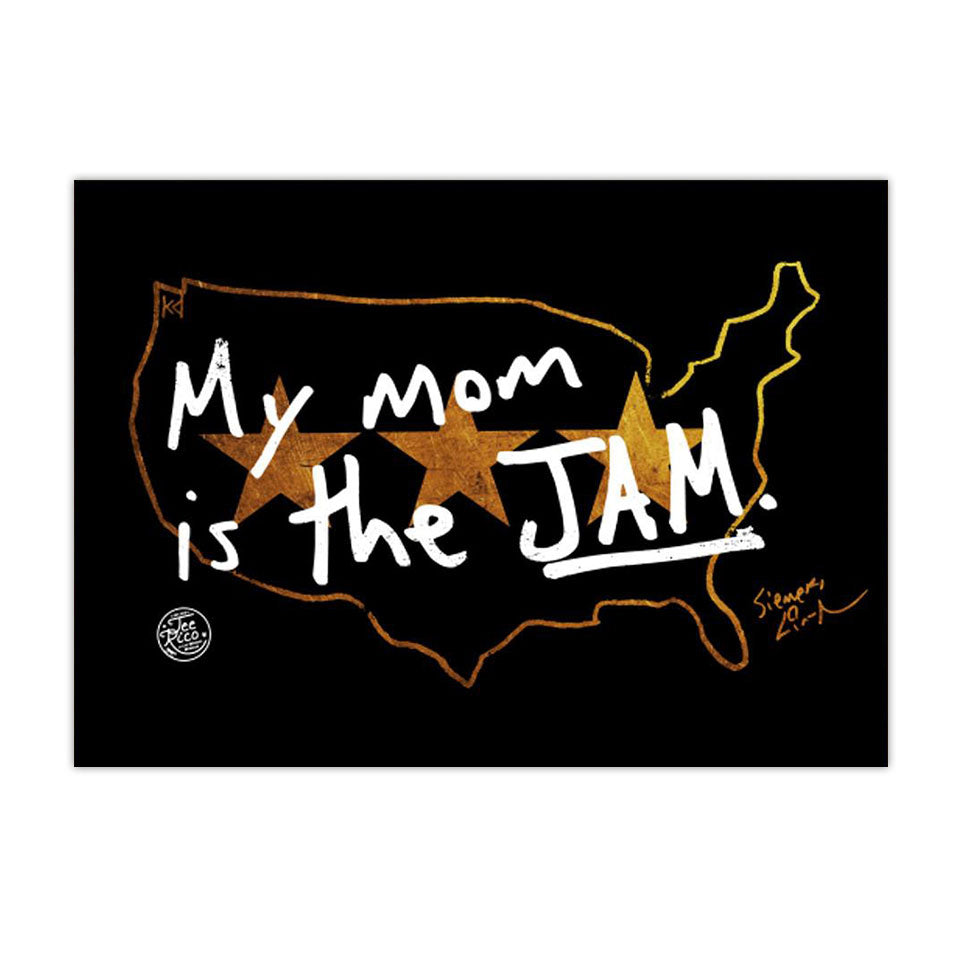 "My Mom is the Jam - Lin-Manuel Handwriting - 5""x7"" Magnet"