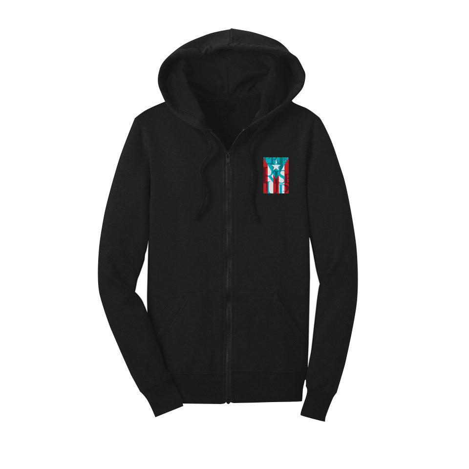 Hamilton Puerto Rico - Full-Zip Unisex Hoodie (XS & SM only) - final sale
