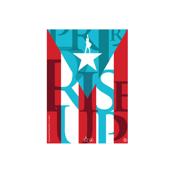 "Hamilton Puerto Rico - 3""x2"" Removable Vinyl Bumper Sticker (2)"