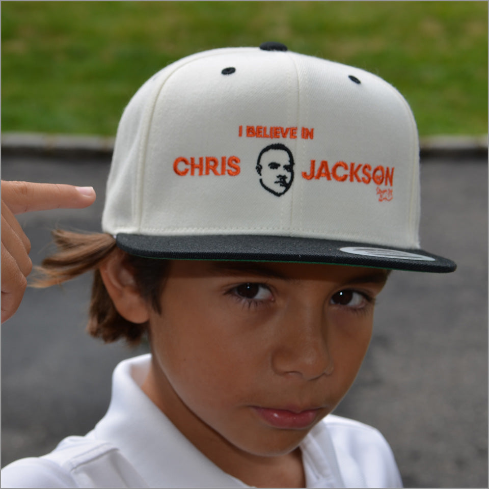 I Believe in Chris Jackson -  Flatbrim Cap - New Item