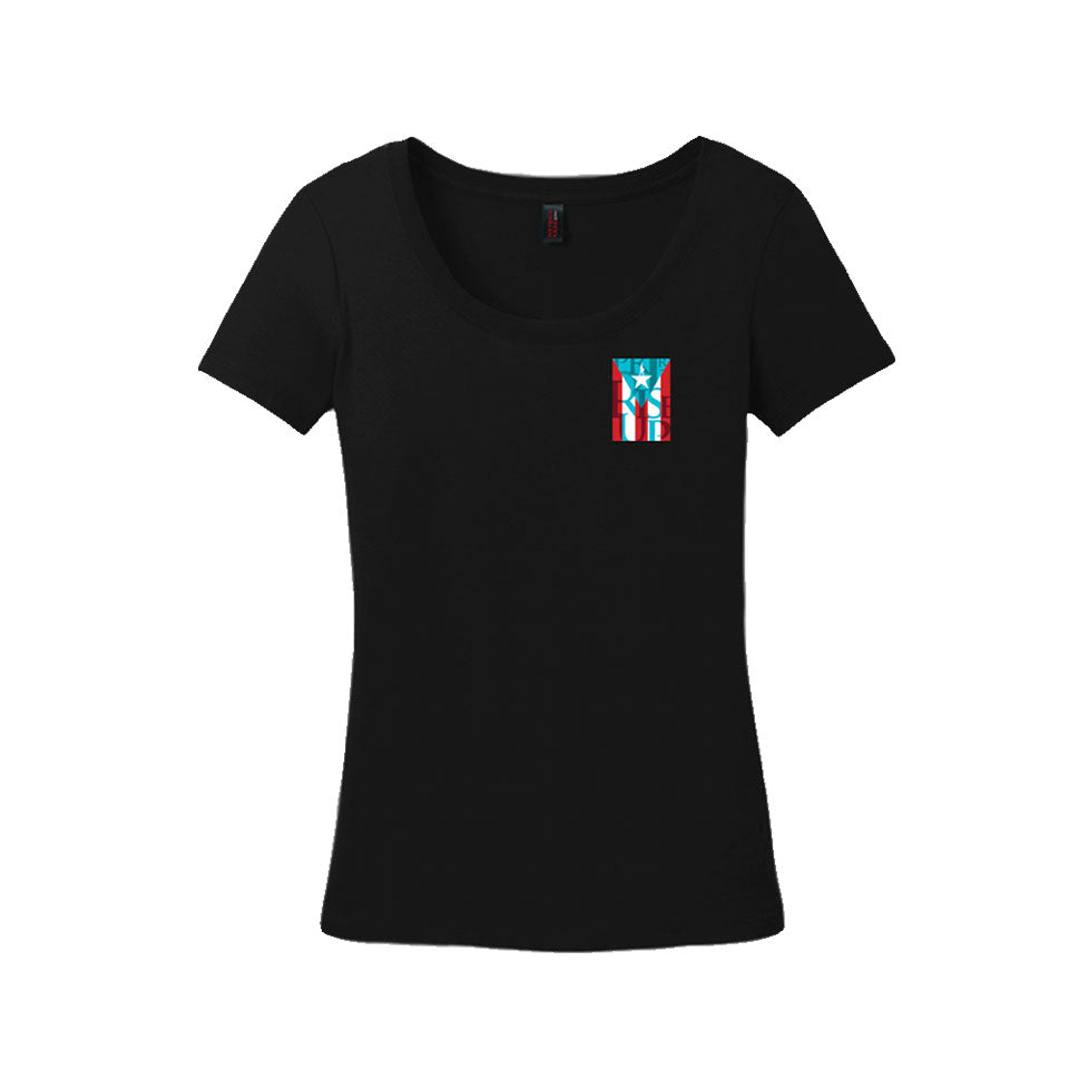 Hamilton Puerto Rico - Ladies Scoop Neck