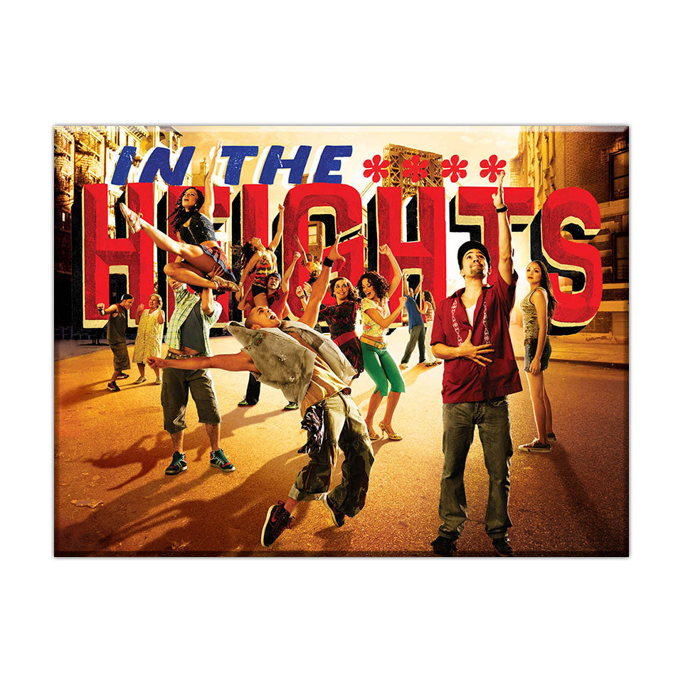 "In The Heights - 2.5""X3.5""  Button Magnet"