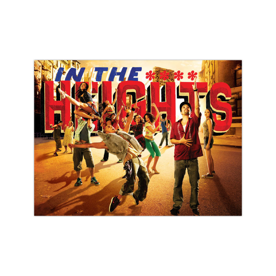 "In the Heights Cover Art - 3""x4"" Vinyl Sticker"