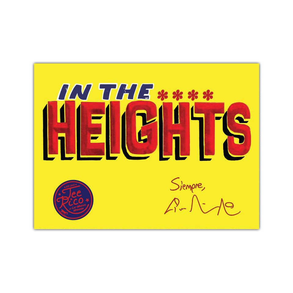 "In The Heights - 3""x2"" Stickers (2)"