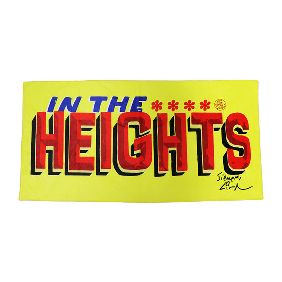 "In The Heights - 30""x60"" Towel"