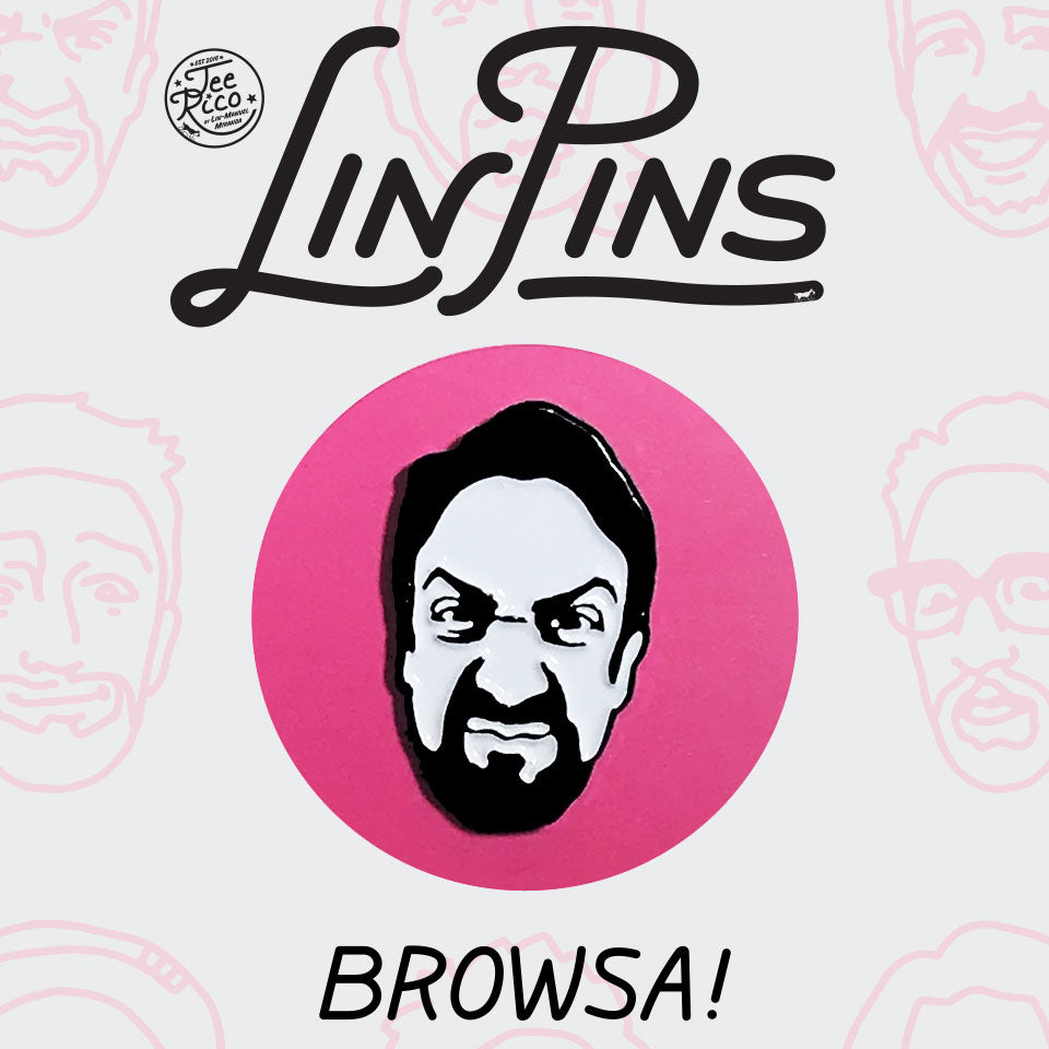 LinPins #11 - Lin-Manuel Browsa! - New Item