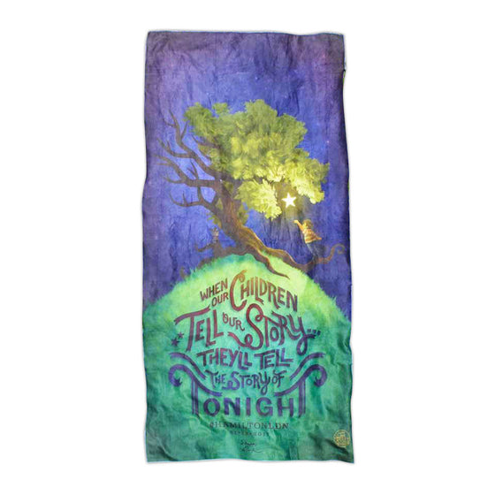 "Hamilton London - Children Tell Our Story - 30""x60"" Towel"