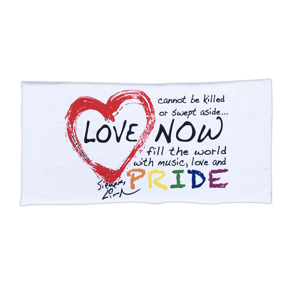 "Love is Love Pride - 30""x60"" Towel"