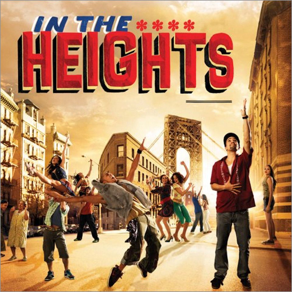"In the Heights ""No Me Diga"" Lyric Sheet - Digitally Signed by Lin-Manuel"