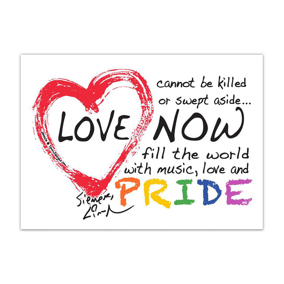 "Love Is Love - 5""x7"" Flat Magnet"
