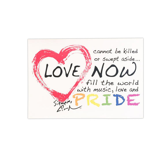 Love Is Love Pride - 11X17 Poster