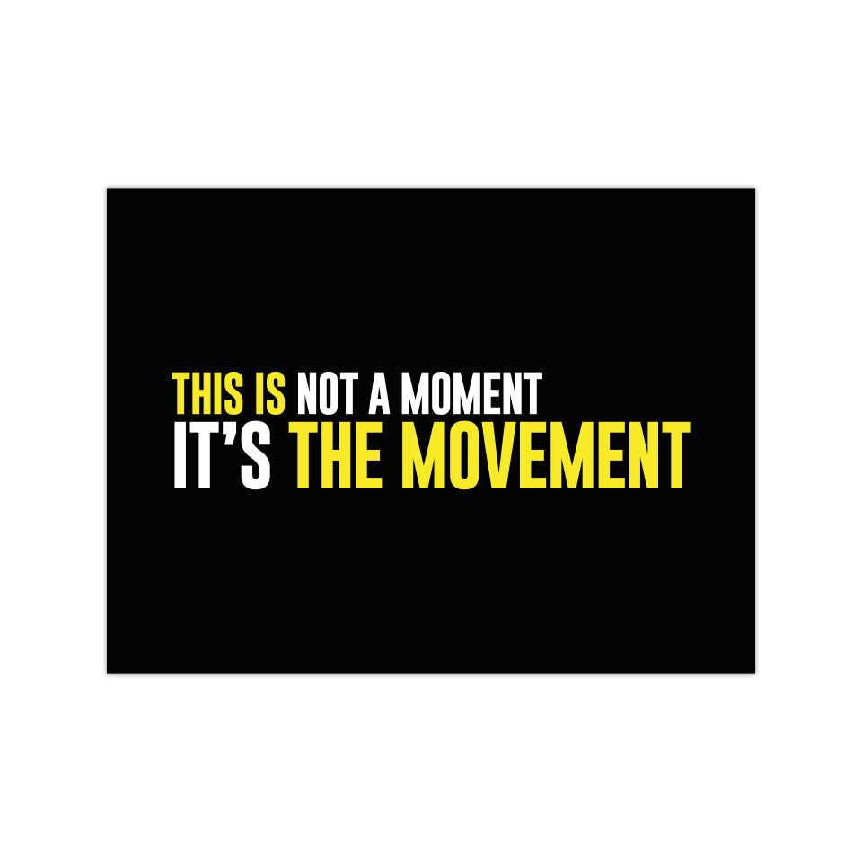 "The Movement - 3""x4"" Magnet"