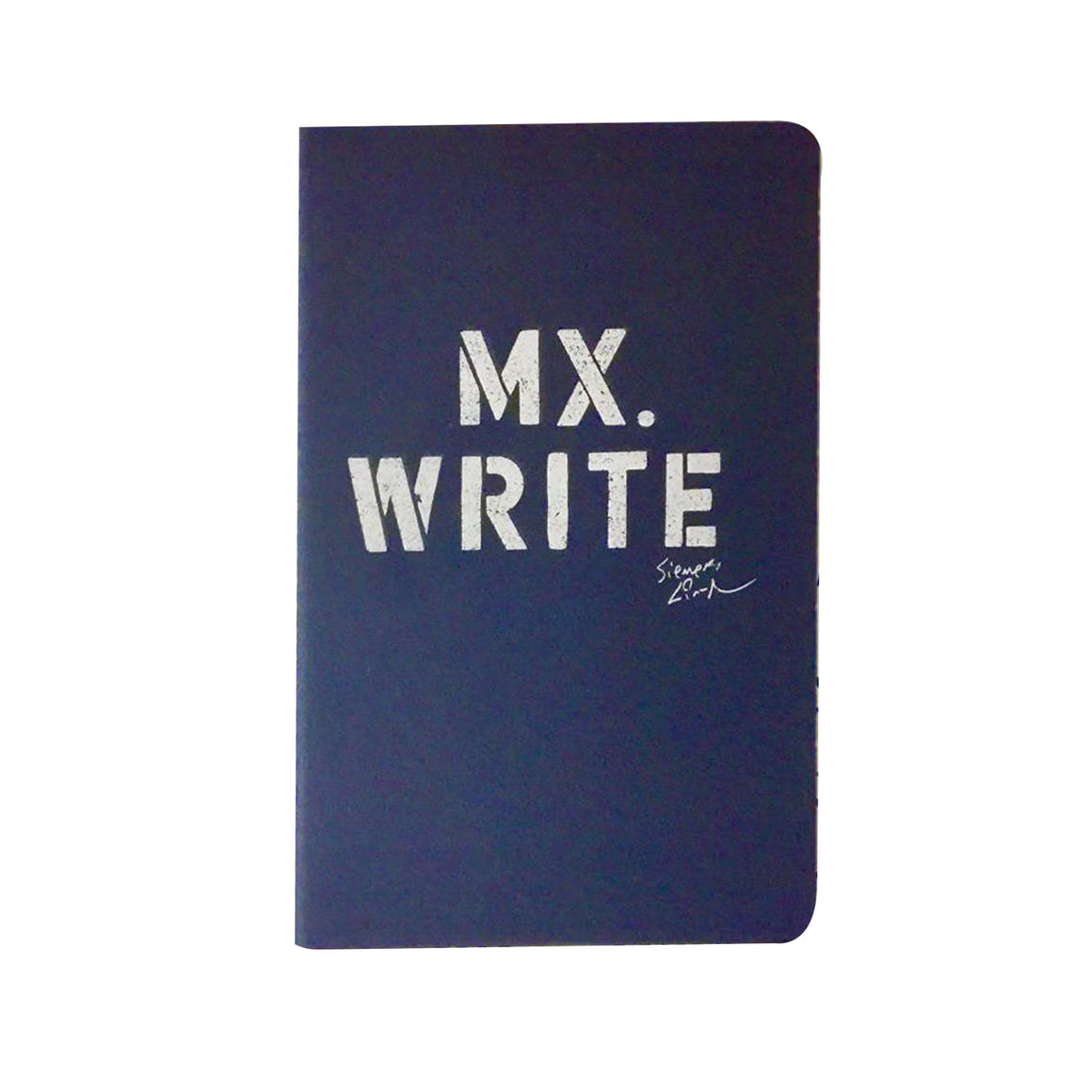 "Lin-Manuel ""MX. WRITE"" 5"" X 8-1/4"" Moleskine Lined Journal"