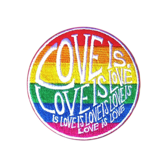 "Circle of Love - 3"" Pride Patch"